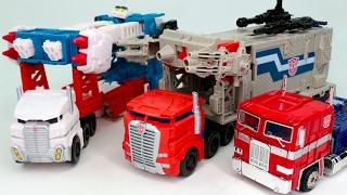Transformers Titans Return PowerMaster Optimus Prime Ultra Magnus G1 Convoy Vehicle Robot Car Toys