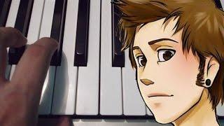 El Rap del Rubius | Bambiel | Piano Tutorial | Notas Musicales