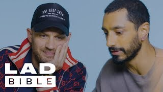 Venom's Tom Hardy & Riz Ahmed Rate Scary Fancy Dress