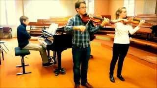 Schostakovich - Melancolic prelude for Violins and piano trio