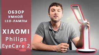 Лампа Xiaomi. Настольная лампа Xiaomi Philips Eyecare. Обзор от Wellfix.