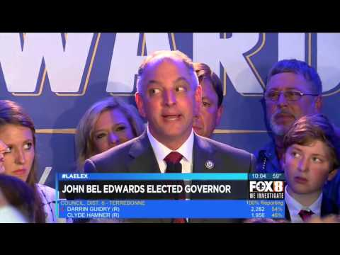John Bel Edwards' Victory
