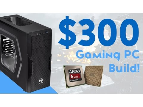 INSANE $300 BUDGET GAMING PC BUILD 2016! [1080P - CONSOLE KILLER]