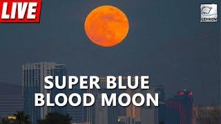 "Eclipse 2018 LIVE - ""Super Blue Blood Moon"" | Lehren News"