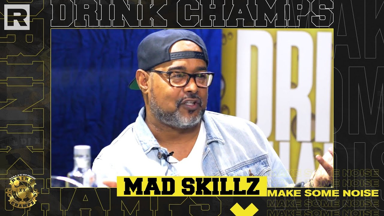 Mad Skillz on Drinks Champs