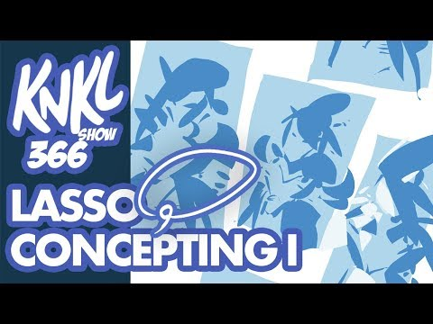 KNKL 366 P1: LASSO TOOL Concepting! (building a piece with just 3 colors!)