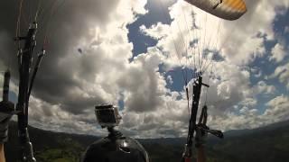 My second paragliding flight over Morovis, Puerto Rico