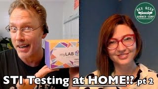 Get STI Testing at Home! - myLAB Box supports sex educators and Sex Geek Summer Camp 2016, pt 2(, 2016-04-29T14:31:38.000Z)