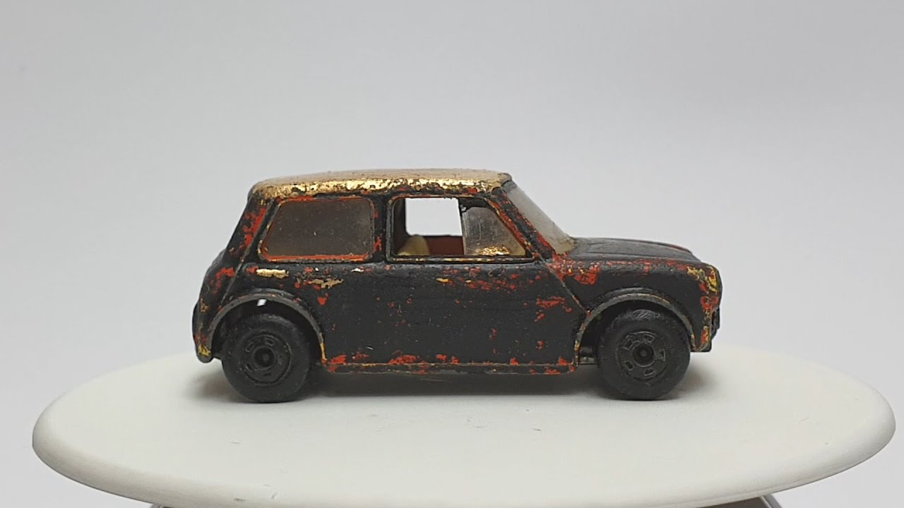 MATCHBOX Custom No 29b Superfast Racing Mini 1970