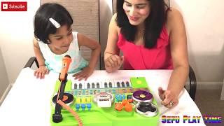 VTech DJ Kidijamz toys reviews unboxing and learn for kids with Sefu Play Time