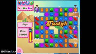 Candy Crush Level 324 Audio Talkthrough, 3 Stars 0 Boosters