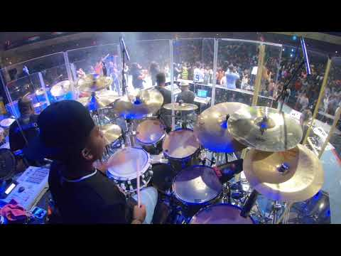 Work It Out//Tye Tribbett//live//(DRUM CAM)