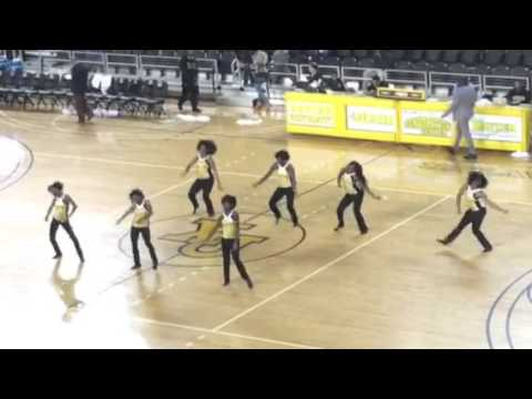 Gold Star dance team (Xavier University of Louisiana)