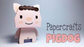 PIGDOG PAPER CRAFTS TUTORIAL !