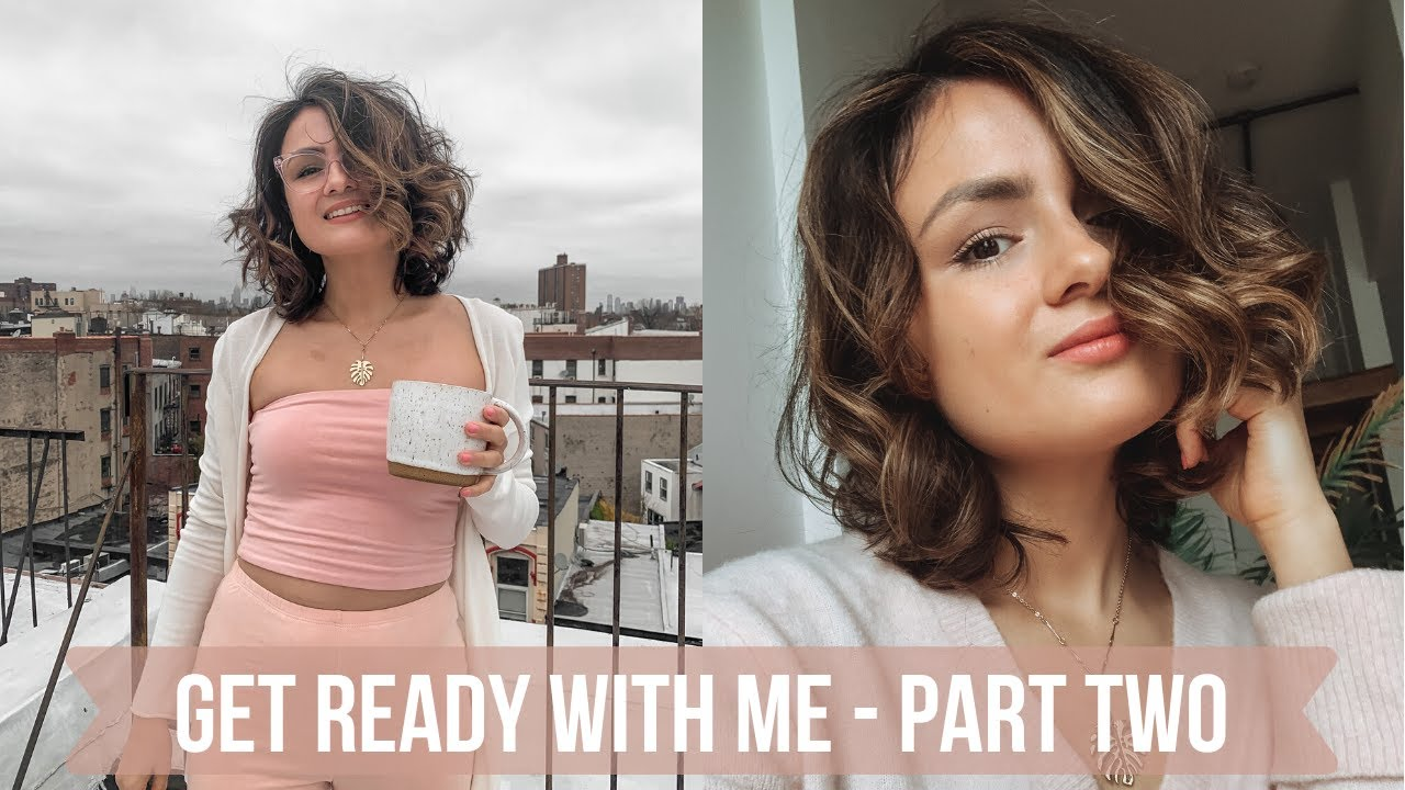 GET READY WITH ME PART 2: Self Quarantine - Easy 10 Minute Clean Beauty Makeup Routine