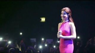 Download Nancy Ajram - Ma Tegi Hena - Live in Paris MP3 song and Music Video