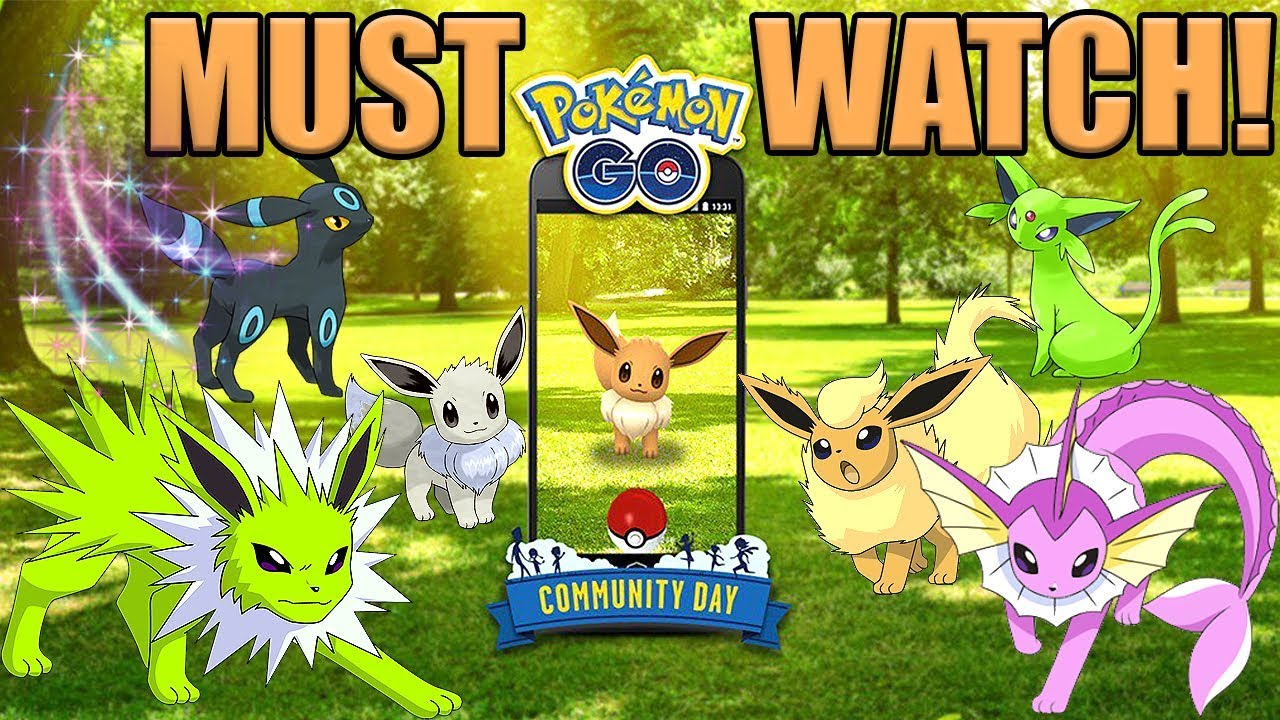 Everything you need to know about eevee community day in pokemon go also rh youtube
