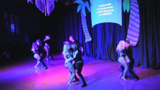 Daniel & Desiree Bachata Team at DF Dance's Havana Nights Show - 2nd Show