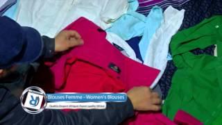 Rakitex -Blouses femme , Women's blouses Qualité d'export (Afrique) ,Export quality (Africa)