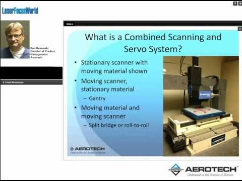Accuracy of Combined Scanning and Servo Systems
