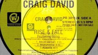 Craig David Feat Sting - Rise And Fall (With Hook And instrumental)