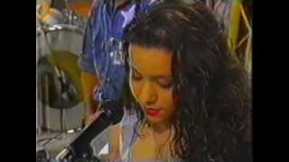 Patricia Marx - Primeira vez no Domingão do Faustão (1989) - Festa do Amor