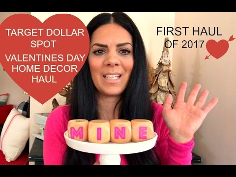 target home decor 2017 target dollar spot valentines day home decor haul 11751
