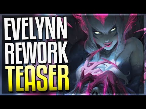 NEW EVELYNN REWORK TEASER!! Completely New Look - League of Legends