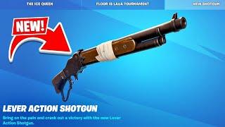 New *LEVER ACTION SHOTGUN* UPDATE in Fortnite!