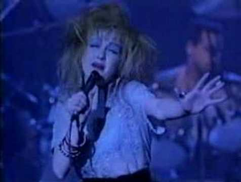 Cyndi Lauper-All through the night