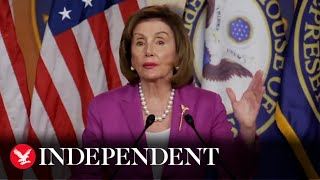 Nancy Pelosi stands by calling Kevin McCarthy 'moron' for opposing mask mandate thumbnail