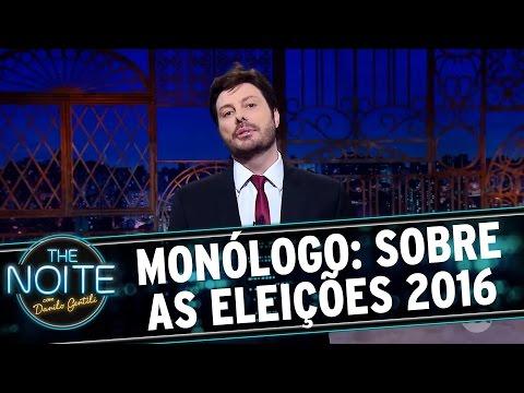 The Noite (03/10/16) - Monólogo: Sobre os resultados das Eleições 2016