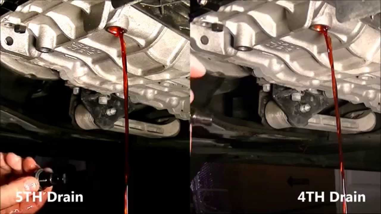 Hyundai Sonata 2011 Automatic Transmission Fluid Atf Fifth