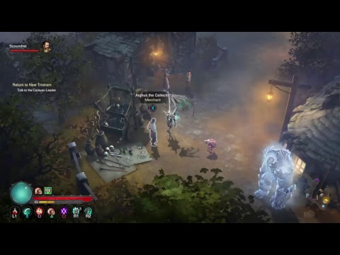 Diablo 3 Eternal collection gameplay PS4