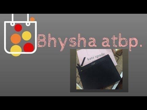 Bhysha Atbp  KateSpade Crossbody Review PH