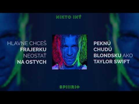 Majk Spirit - Nikto iný (Lyrics Video)