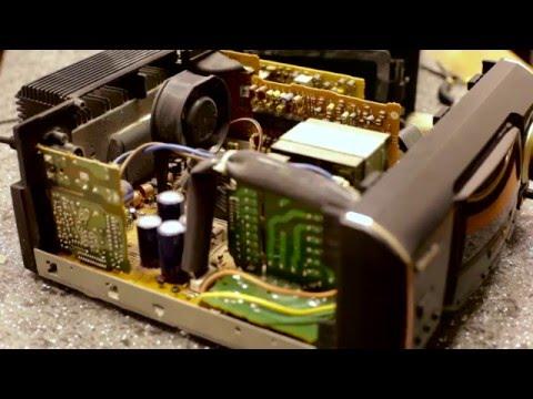 #007  Quick repair of the music center Technics SA-EH50