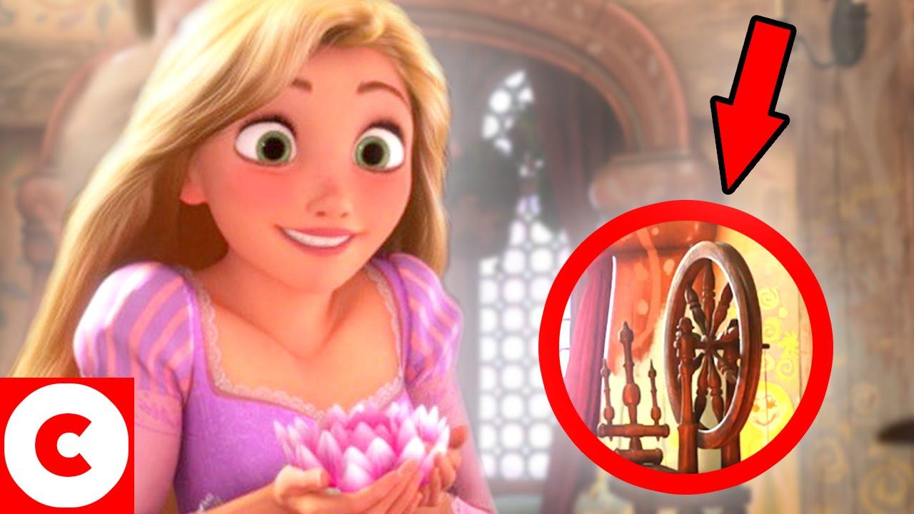 10 d tails incroyables cach s dans les films de disney for Dans youtube