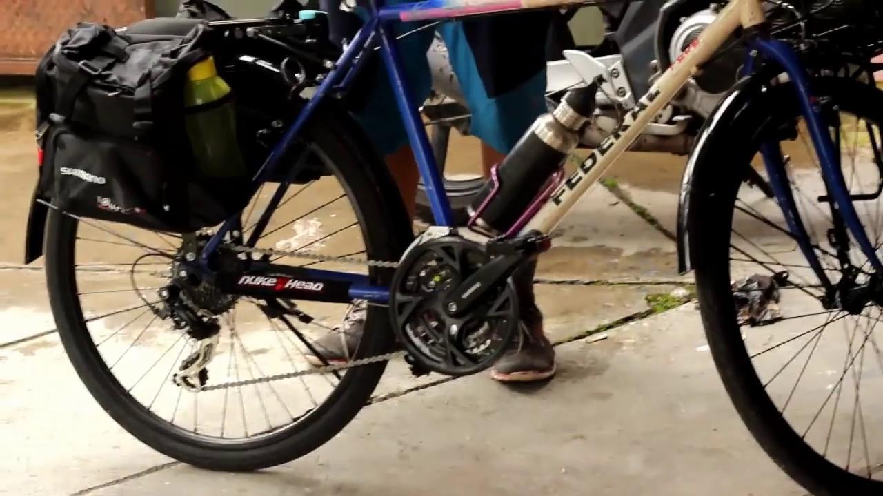 persiapan gowes untuk touring sepeda federal - YouTube