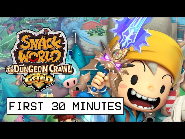 Snack World The Dungeon Crawl Gold First 30 Minutes Of Gameplay