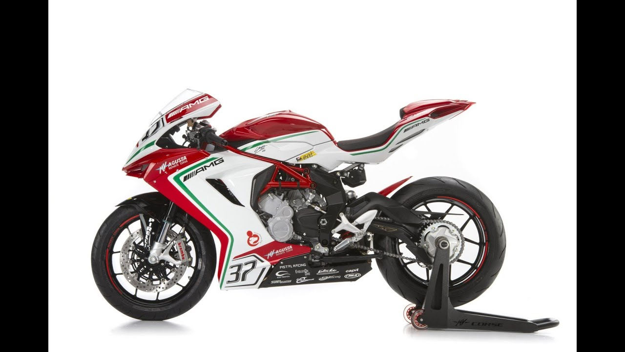 mv agusta f3 rc supersport replica - youtube