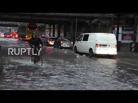 Germany: Firefighters declare state of emergency as heavy floods submerge Berlin