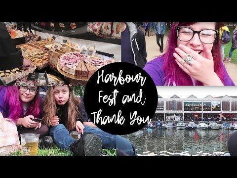 Harbour Fest & THANK YOU Vlog   Bekkiboom