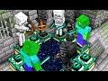 Minecraft pero los Mobs Pasan el Juego por Mi