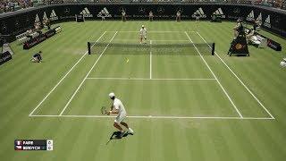 Benoît Paire vs Tomas Berdych - AO International Tennis PS4 Gameplay