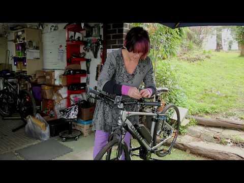 Installing the magnetic brake sensor