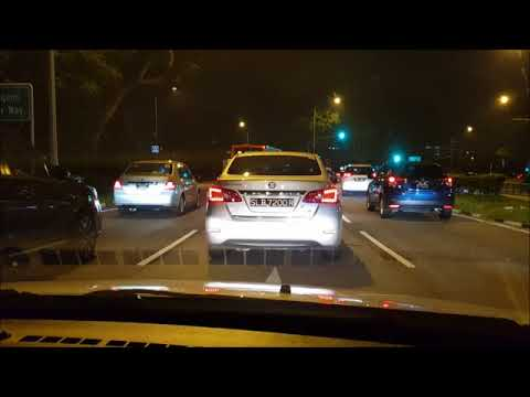 2017 10 31, 2000 hrs, SLB7200R, Yio Chu Kang  Road, Dangerous Driving