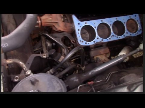 Installing a Head Gasket 94 Chevy Silverado 350
