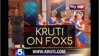 Kruti Dance Academy on Fox 5 Good Day Atlanta