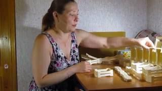Сборка мини рамочек для секционного сотового мёда.(Пришли мини рамочки для секционного сотового мёда. Подробное видео, как собрать мини рамочки. Наш Сайт..., 2016-07-05T10:27:40.000Z)